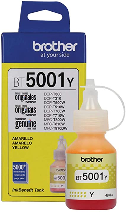 REFIL BROTHER BT5001 48,8ML AMARELO